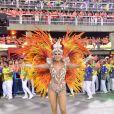 'Estou no Carnaval desde que eu tinha 9 anos de idade', disse Lívia Andrade, estreante como musa da Paraíso do Tuiuti