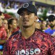Anitta e Neymar chegaram na companhia do surfista Gabriel Medina