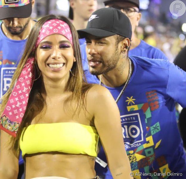 Colunista divulga vídeo de beijo de Anitta e Neymar em camarote e, na web, ela se posiciona nesta quarta-feira, dia 06 de março de 2019