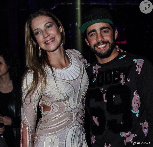 Luana Piovani e Pedro Scooby não estão mais casados, mas seguem com uma forte amizade. Atriz elogiou o ex-marido no Instagram, em 8 de março de 2019