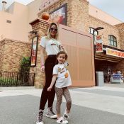 Gucci girls! Thyane Dantas e filha, Ysis, combinam looks grifados nos EUA. Saiba