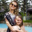 Fernanda Rodrigues é mãe de Luisa, fruto da relação com  Raoni Carneiro