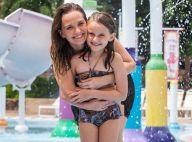 Fernanda Rodrigues curte piscina com a filha e semelhança impressiona. Fotos!