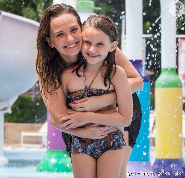 Filha de Fernanda Rodrigues, Luisa impressionou por semelhança com atriz em fotos