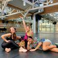 Larissa Manoela tem uma rotina ativa e, sempre que consegue, vê na dança outra aliada