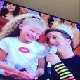 Debby Lagranha foi lançada na TV ainda criança