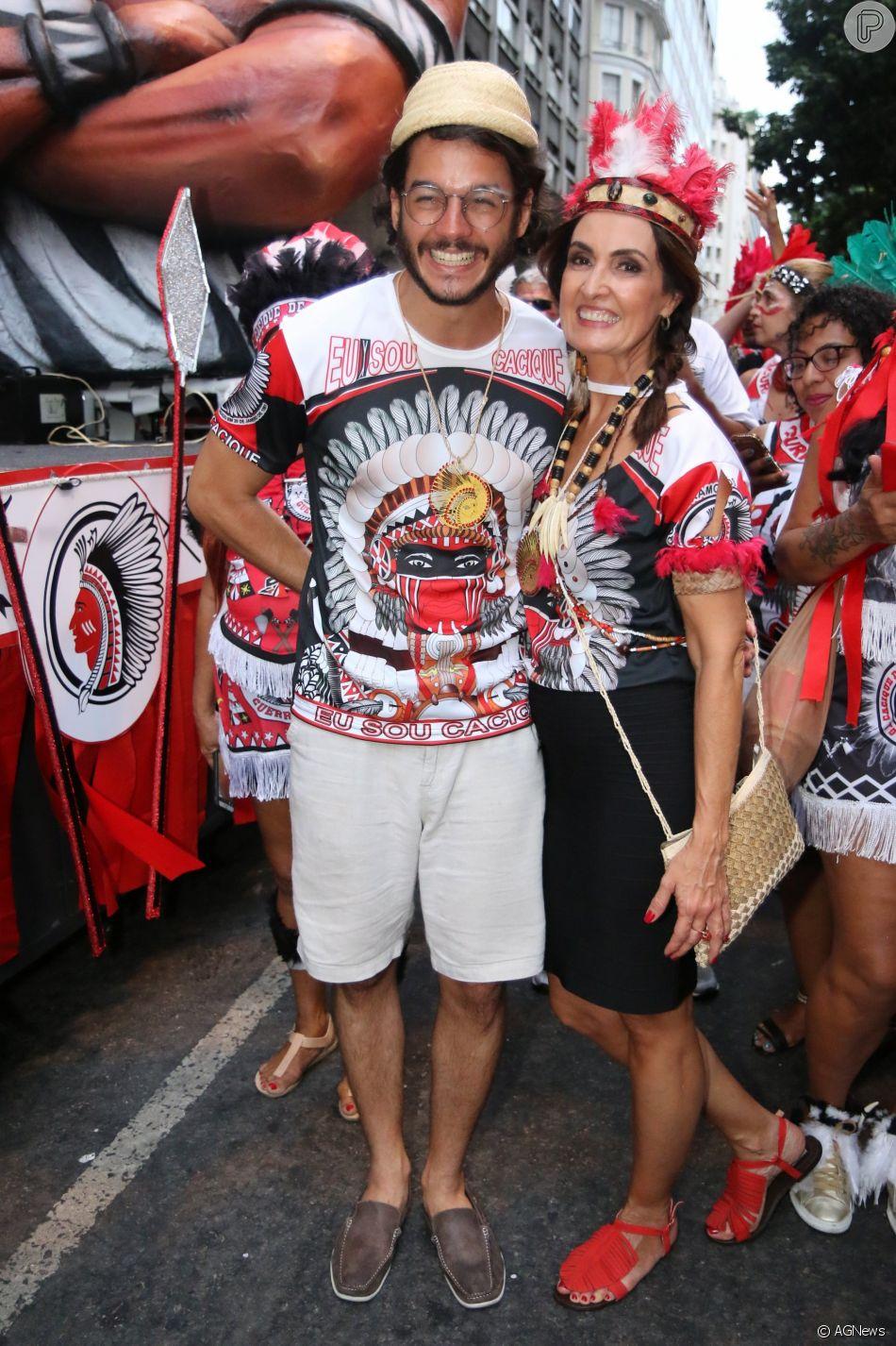 Fátima Bernardes contou que não tem tempo para desentendimentos com Túlio Gadêlha