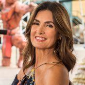 Fátima Bernardes curte passeio com namorado e tem look elogiado: 'Roupa linda'