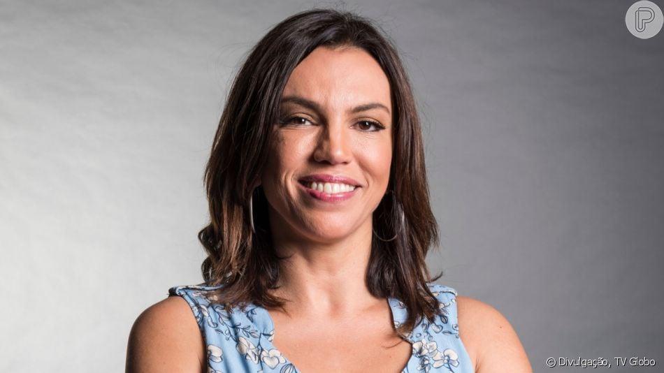 Ana Paula Araujo foi comparada à filha, Melissa, de 13 anos, por conta da semelhança física: 'Sorriso é igual'