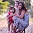 Adriana Sant'Anna encantou os fãs com foto dos filhos na web