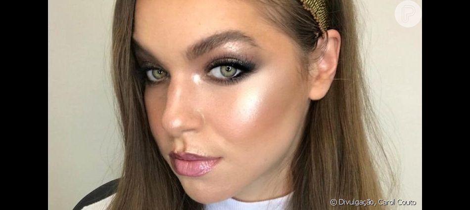 Veja detalhes de uma maquiagem bem ao estilo a-beauty!