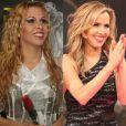 Joelma e Leona Cavalli começaram a ouvir que eram parecidas durante o quadro 'Dança dos Famosos', do programa 'Domingão do Faustão', e a cantora aprovou a comparação.