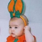 Feliz Páscoa! Sabrina Sato mostra Zoe vestida de coelhinha e encanta a web