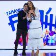Zezé Di Camargo foi o outro homenageado do programa 'Tamanho Família'
