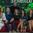 Ivete Sangalo e parte de sua família no programa 'Tamanho Família'