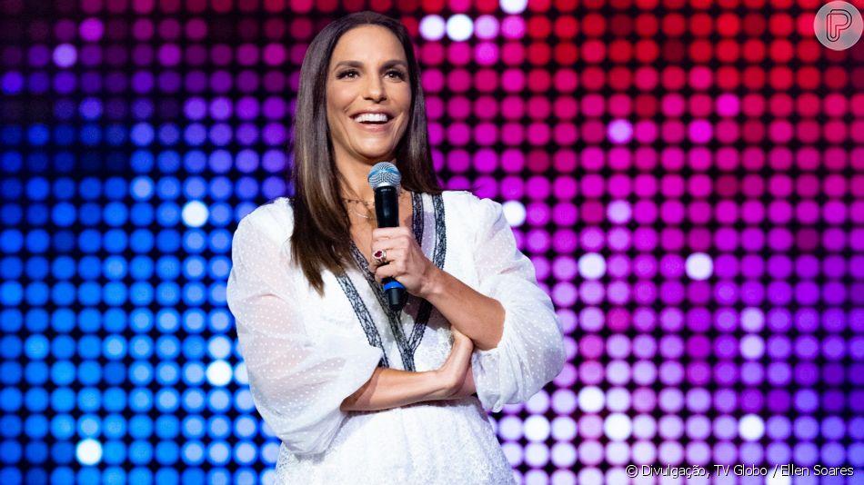 Ivete Sangalo foi uma das convidadas do programa 'Tamanho Família' deste domingo, 21 de abril de 2019