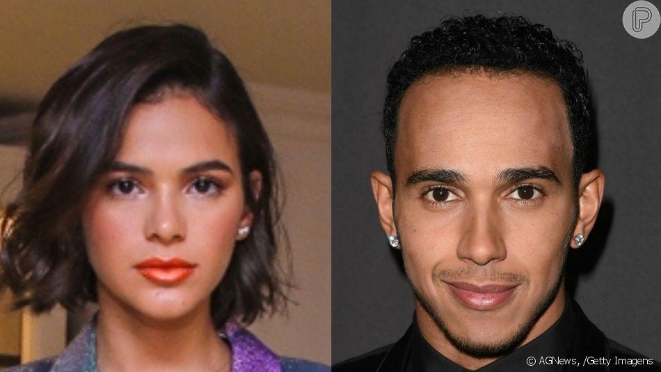 Bruna Marquezine e Lewis Hamilton teriam engatado namoro, segundo a revista 'Toda Teen' após curtirem juntos o festival Coachella. A partir daí, passaram a se seguir no Instagram