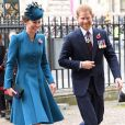 Kate Middleton acompanha o cunhado príncipe Harry em evento oficial em Londres