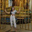 Aline Riscado comemora posto de rainha de bateria da Unidos de Vila Isabel: 'Estou preparada e feliz'