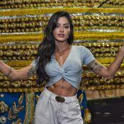 Aline Riscado assume posto de rainha de bateria da Vila: 'Sabrina me inspira'