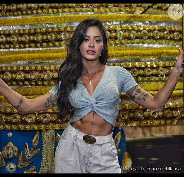 Aline Riscado assume posto de rainha de bateria da Vila Isabel nesta sexta-feira, dia 03 de maio de 2019