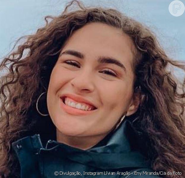 Lívian Aragão foi comparada com Kéfera Buchmann após publicar foto com pai na web nesta quarta-feira, 8 de maio de 2019