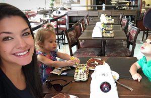 Thais Fersoza se emociona ao ver a filha, Melinda, com brinquedo especial. Veja!