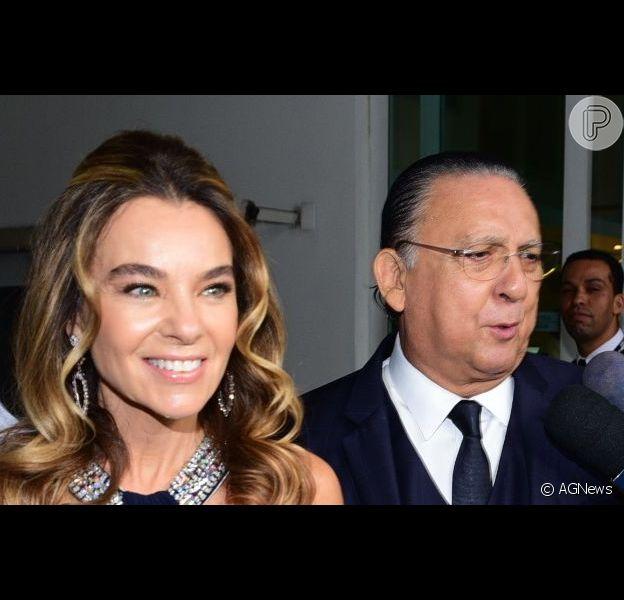 Barriga negativa da mulher de Galvão Bueno, Desirée Soares, impressionou o seguidores do Instagram dela, nesta quarta-feira (15).
