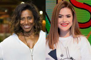 Gloria Maria chama a atenção de Maisa na web: 'Não pedi para ir no seu programa'