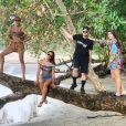 Anitta esteve recentemente em viagem divertida com amigos pela Costa Rica