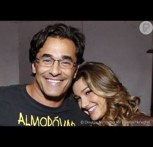 Luciano Szafir lamenta distância da filha, Sasha Meneghel: 'Não consigo visitar'