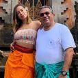 Pai de Anitta, Mauro Machado ganhou dicas de Pedro Scooby para ser um bom influencer