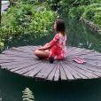Anitta praticou meditação em Ubud, cidade de Bali, na Indonésia: ' Momento único'