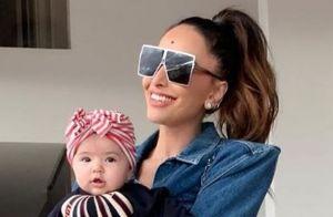 Aos 6 meses, filha de Sabrina Sato tem mais de dez óculos: 'Tenta colocá-los'
