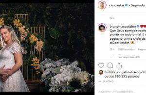 Marquezine é elogiada após parabenizar Carol Dantas por casamento: 'Você é luz!'