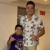 Safadão dança com filho Yhudy em vídeo e fãs apontam semelhança: 'Cara, crachá'
