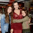 Valentina, filha mais velha de Ricardo Boechat e Veruska Seibel, foi comparada ao pai nas redes sociais da mãe