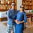 Ticiane Pinheiro espera sua primeira filha com o jornalista Cesar Tralli