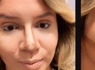 Maquiagem de contorno valoriza desenho do rosto de Marilia Mendonça. Veja fotos!