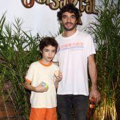 Filho de Caio Blat chama atenção por semelhança com pai em festa de Títi. Fotos!