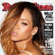 Rihanna posa sexy para capa da 'Rolling Stone' americana de fevereiro de 2013