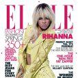 Em abril de 2012, Rihanna foi capa da revista 'Elle'