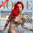Rihanna foi capa da 'Vogue' em março de 2011