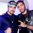 Pedro Scooby, namorado de Anitta, recebeu Caio Castro no evento que aconteceu nesta quarta-feira, 27 de junho de 2019