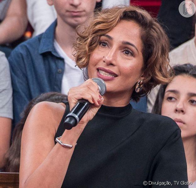 Camila Pitanga relembrou a morte de Domingos Montagner em entrevista