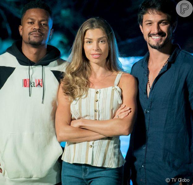 Paloma (Grazi Massafera) viverá triângulo amoroso com Ramon (David Junior) e Marcos (Romulo Estrela) na novela 'Bom Sucesso'