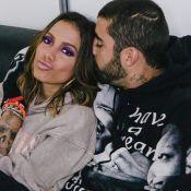 Anitta dorme com cachorro e compara pet com o namorado: 'É a cara do Pedro'