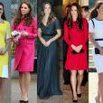 Kate Middleton era fã de produções com decotes mais clássicos e discretos, como o quadrado e o canoa