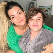 Filho de Kelly Key, Jaime ganha elogio em foto com irmã, Suzanna Freitas: 'Gato'