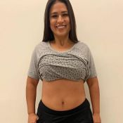 Antes e depois: Simone mostra barriga e corpo mais magro após eliminar 8 kg